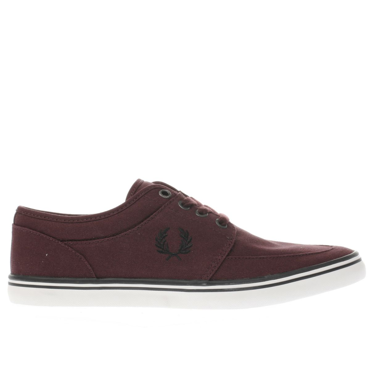 fred perry burgundy stratford trainers