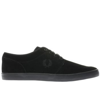 Fred Perry Black Stratford Mens Trainers