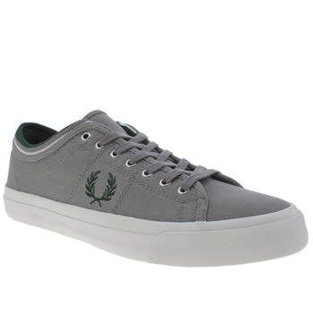Mens Fred Perry Grey Kendrick Trainers