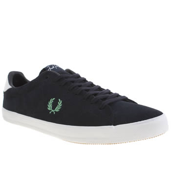 Fred Perry Navy Howells Trainers