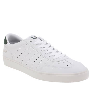 Fred Perry White Umpire Mens Trainers