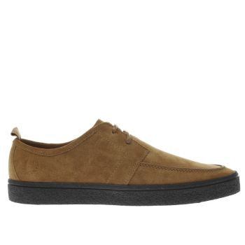 Fred Perry Tan Shields Mens Trainers