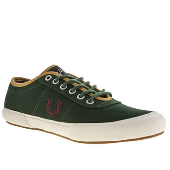 Fred Perry Green Woodford Trainers