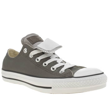 Converse Khaki  All Star Double Tongue Trainers