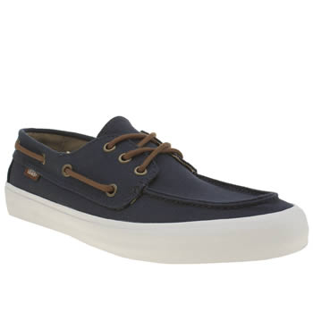 Vans Navy Chauffeur Trainers