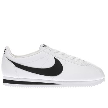 Nike White Classic Cortez Mens Trainers