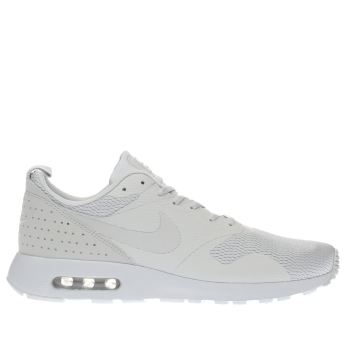 Mens Nike Light Grey Air Max Tavas Trainers