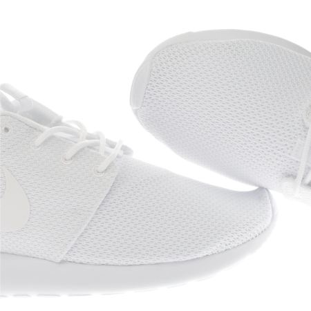 zpefr Mens White Nike Roshe One Trainers | schuh