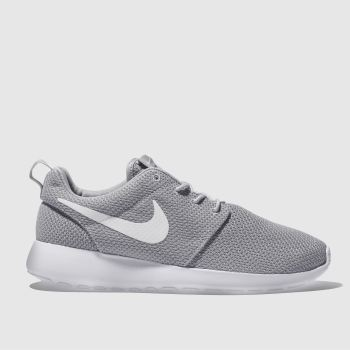 mens grey nike roshe run