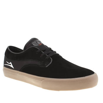 Lakai Black Riley Hawk Trainers