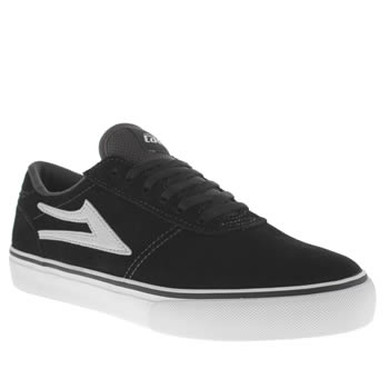 Mens Lakai Black Manchester Trainers