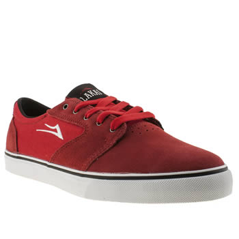 mens lakai red fura trainers
