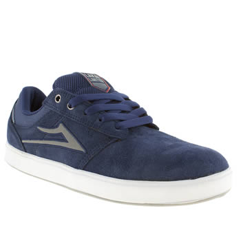 mens lakai navy linden trainers
