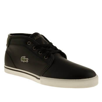 Lacoste Black & Green Ampthill Trainers