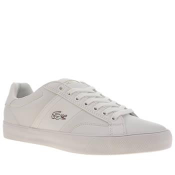 Lacoste White Fairlead Trainers