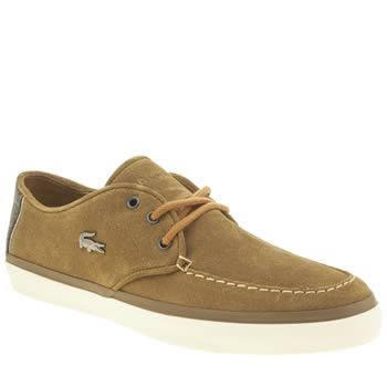 Lacoste Tan Sevrin 2 Mens Trainers