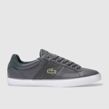 Lacoste Grey Fairlead 317 Mens Trainers