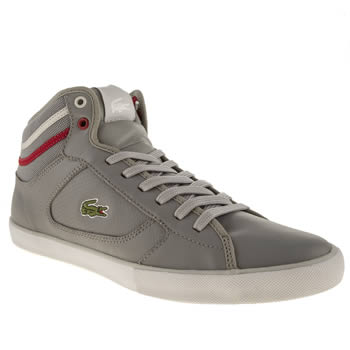 Mens Lacoste Grey Camous Trainers