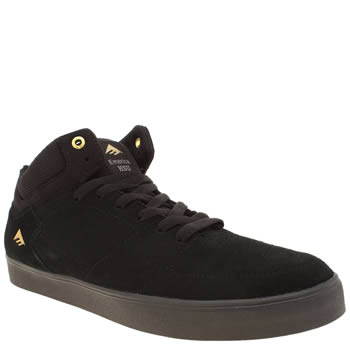 Emerica Black Hsu G6 Mens Trainers