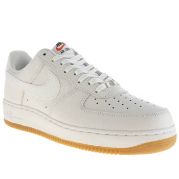 Mens Nike White Air Force 1 Trainers