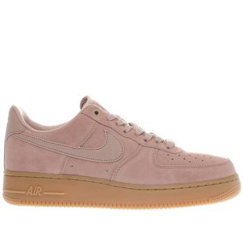 Nike Pink Air Force 1 Mens Trainers