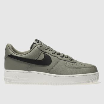 Nike Khaki Air Force 1 07 Mens Trainers