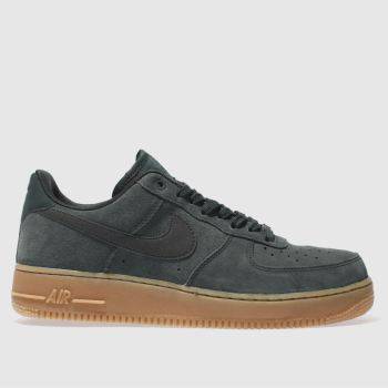 Nike Khaki Air Force 1 Mens Trainers
