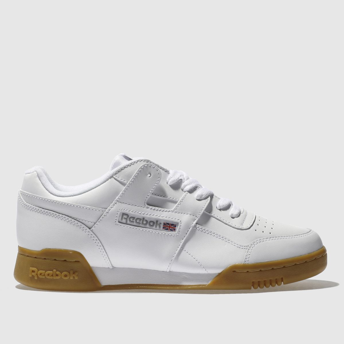 Reebok White Workout Plus Nt Trainers