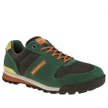 Merrell Dark Green Solo Mens Trainers