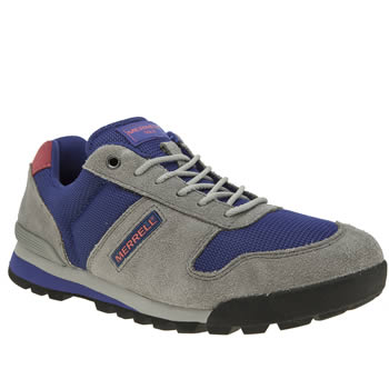 Merrell Light Grey Solo Mens Trainers
