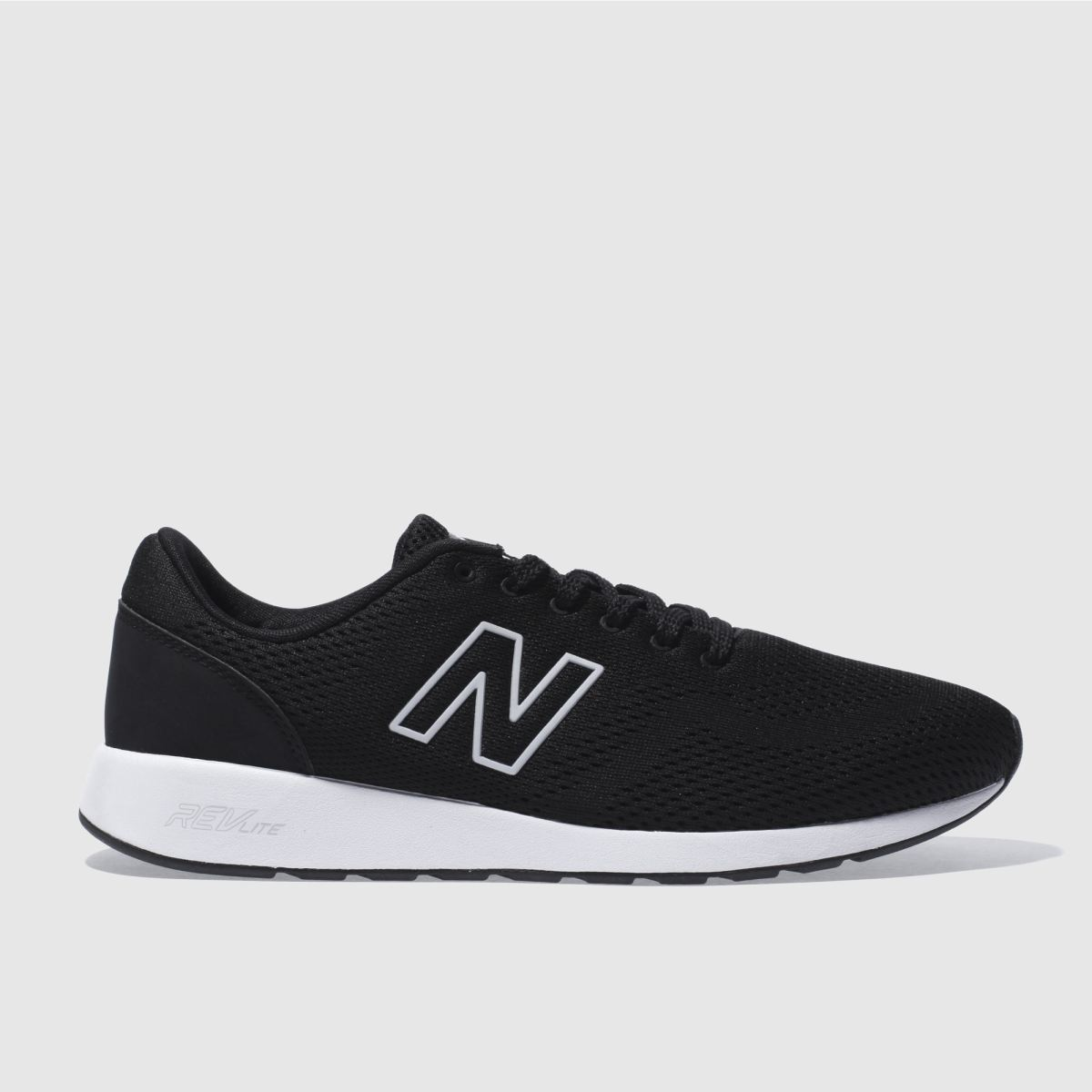 New Balance Black & White 420 Trainers