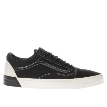 Vans White & Black Old Skool Dx Trainers