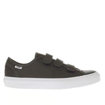 Vans Green Prison Issue Mens Trainers