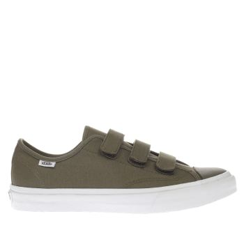 VANS KHAKI PRISON ISSUE TRAINERS