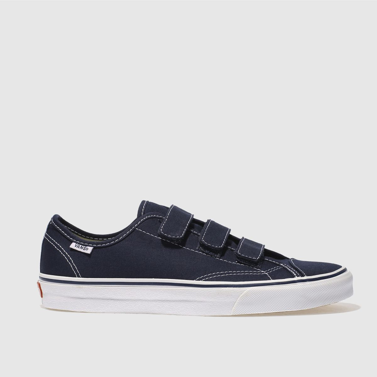 vans navy & white style 23 v trainers