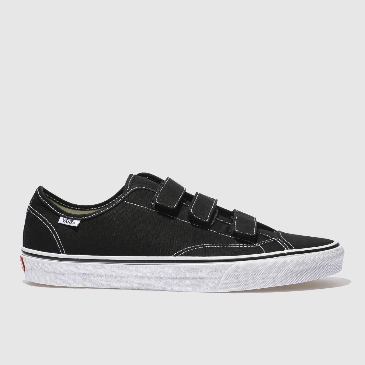 vans black & white style 23 v trainers