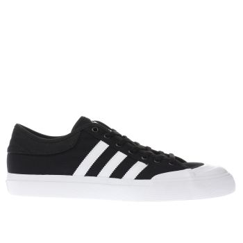 Adidas Black Matchcourt Mens Trainers