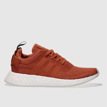 Adidas Red Nmd_R2 Mens Trainers