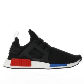 Adidas Black & Red Nmd_xr1 Primeknit Trainers