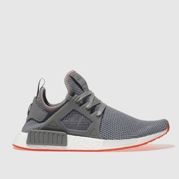 Adidas Grey Nmd_Xr1 Mens Trainers