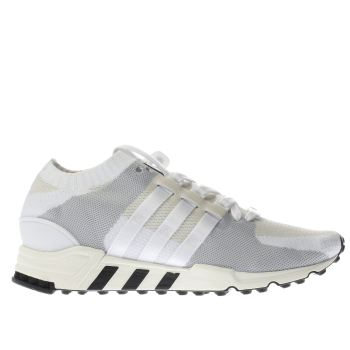 Adidas White Eqt Support Rf Primeknit Mens Trainers