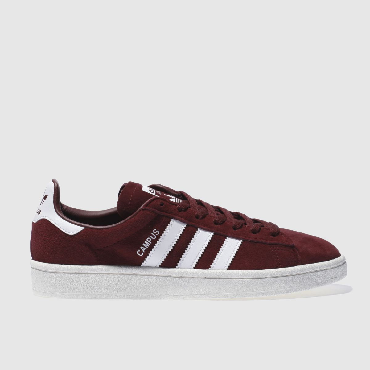 Adidas Burgundy Campus Trainers
