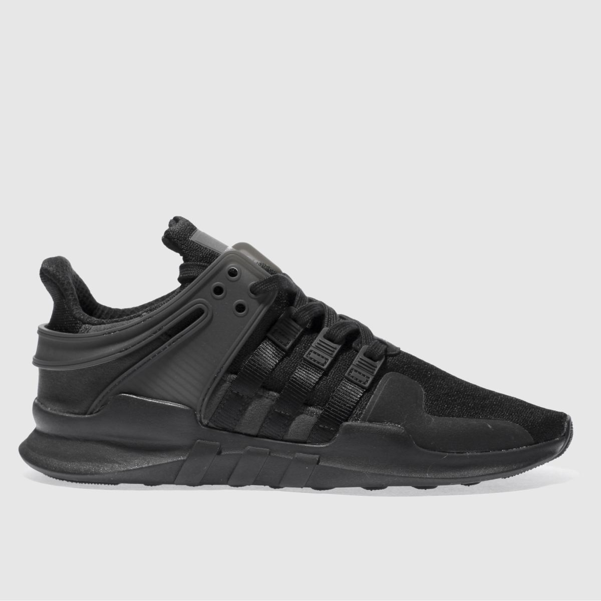 Adidas Black Eqt Support Adv Trainers