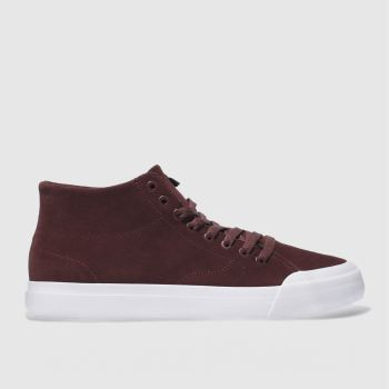 Dc Shoes Burgundy Evan Smith Hi Zero Mens Trainers