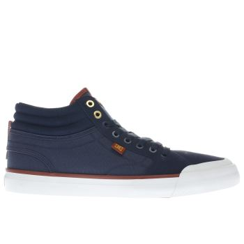 Dc Shoes Navy Evan Smith Hi Mens Trainers