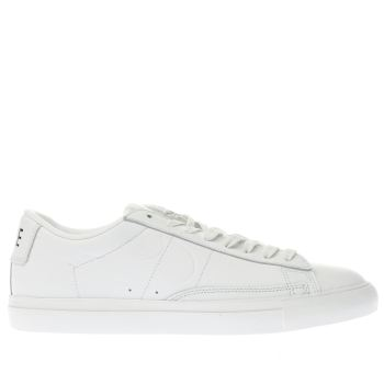 Nike White Blazer Low Mens Trainers