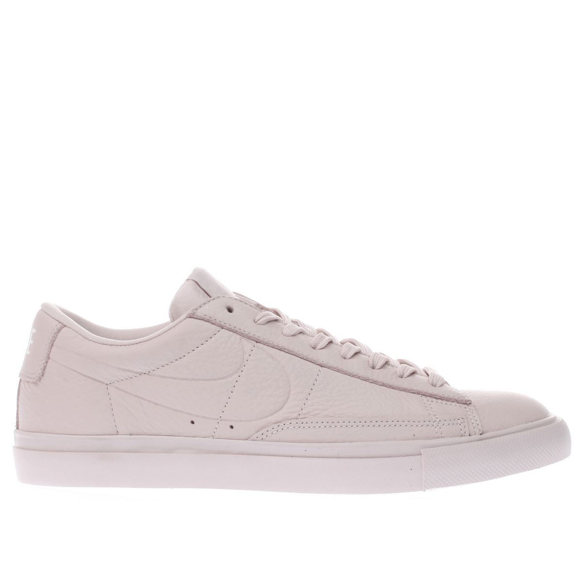 nike pale pink blazer low trainers