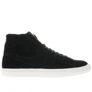 Nike Black Blazer Mid Mens Trainers