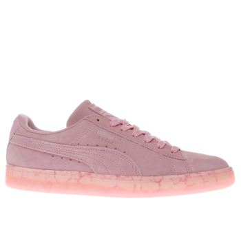 Puma Pale Pink Suede Classic Easter Trainers