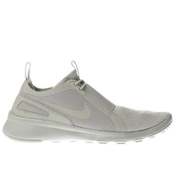 Nike Light Grey CURRENT SLIP ON Trainers